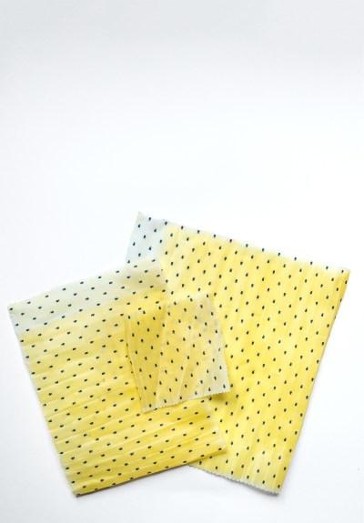 Wiederverwendbare Tücher zum Verpacken von Lebensmitteln