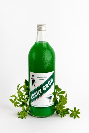 Wodka Waldmeisterlikör Lucky Grün Produktbild 1