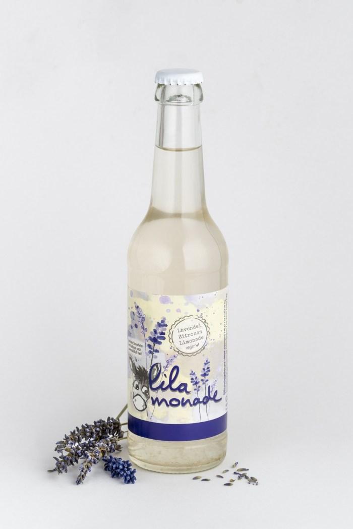 Lavendel-Zitronen Limonade Lilamonade Produktbild 1