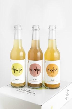 Ingwer Limonade Set von Djahé Box Produktbild