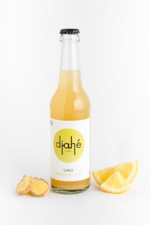 Ingwer-Zitronen Limonade Djahé Produktbild 1