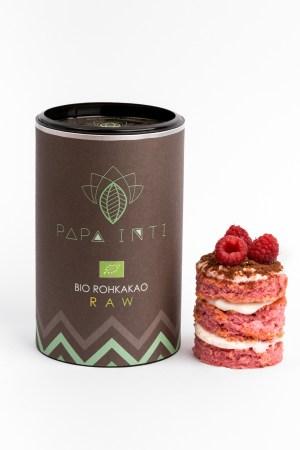 Ein Dessert verfeinert mit Rohkakaopulver von Papa Inti Produktbild 3