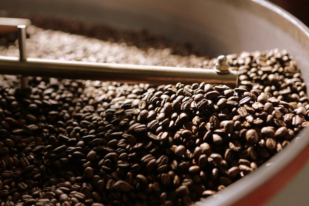 Röstung Kaffeebohnen Heilandt
