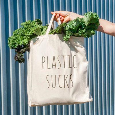 Foto von bambusliebe Jutebeutel Plastik sucks