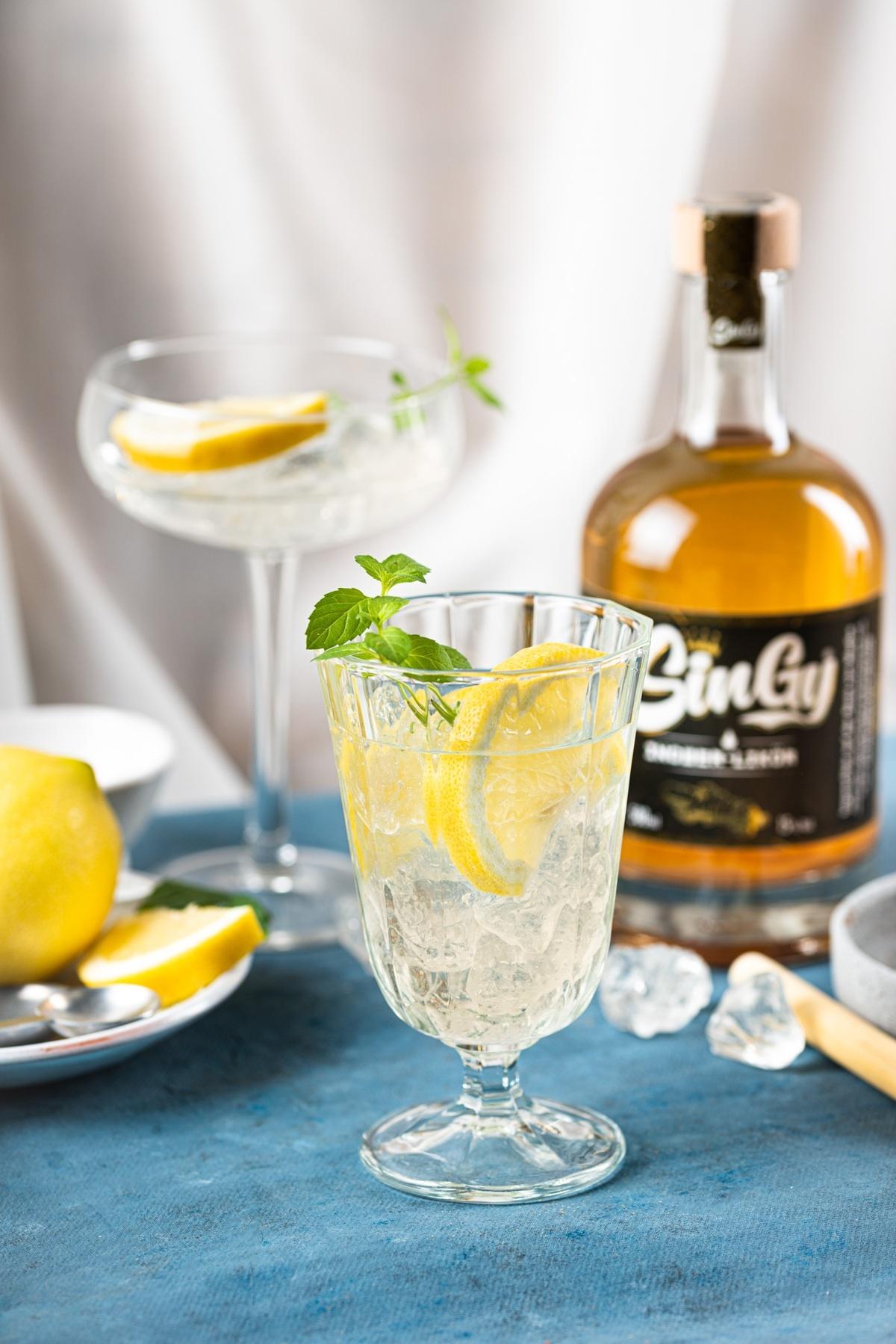 Ginger Spritz mit SinGy Rezept