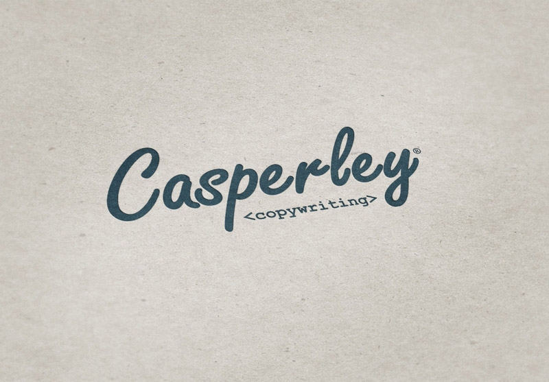 Casperley Copywriting Logo Design