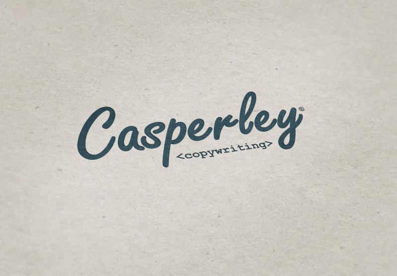 Casperley Copywriting Logo Design