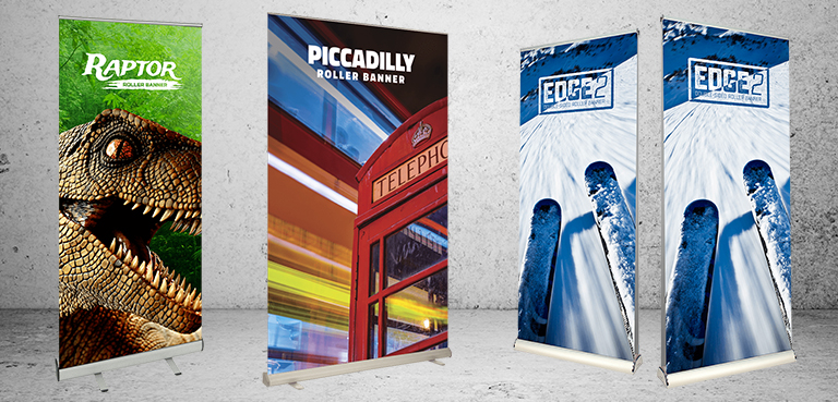 Custom Printed Roller Banner & Pull Up Banners