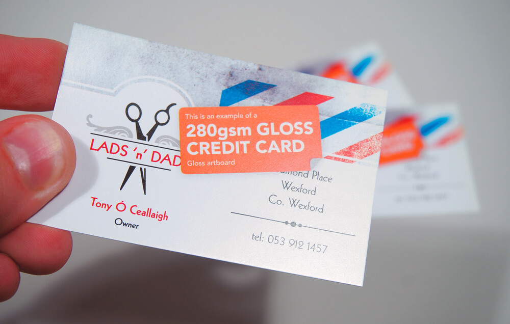 Standard Gloss Coated Business Cards
