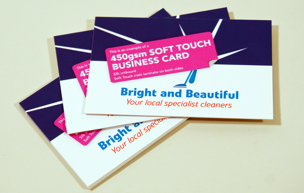450gsm Soft Touch Business Cards