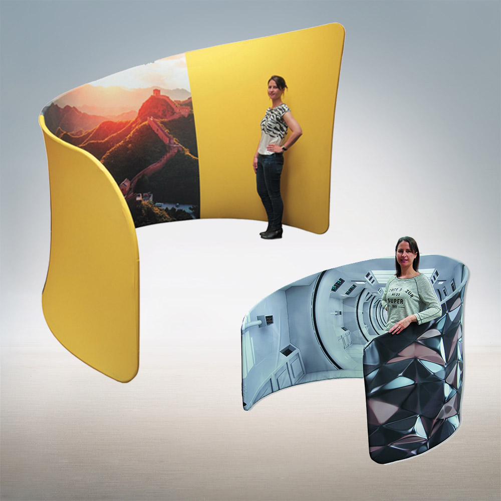 Custom Fabric Exhibition Booth for Trade Shows and More