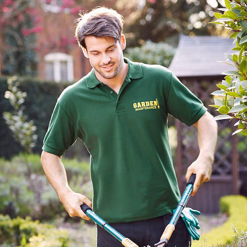 Custom Workweat Logo Polo Shirt