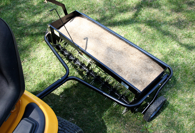 2013 AS 40BH Outdoor3 - Homeowner How-to: Aerating and Overseeding
