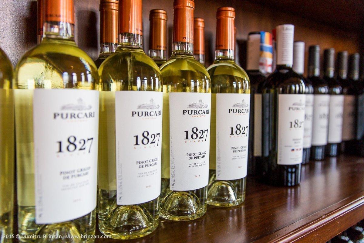 Purcari Estate - Bottles of 1827 Pinot Grigio 2014
