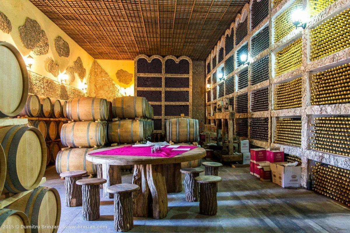 Asconi Winery in Puhoi Village, Moldova - The Cellar