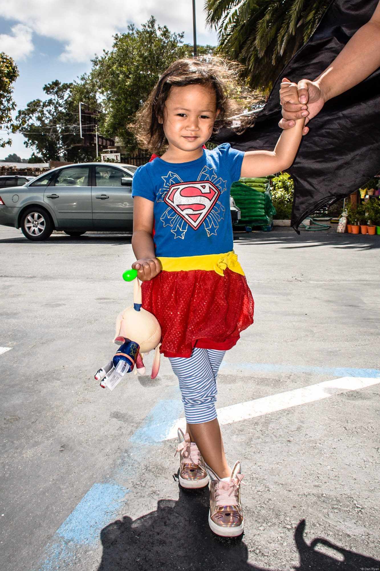 Supergirl in San Francisco