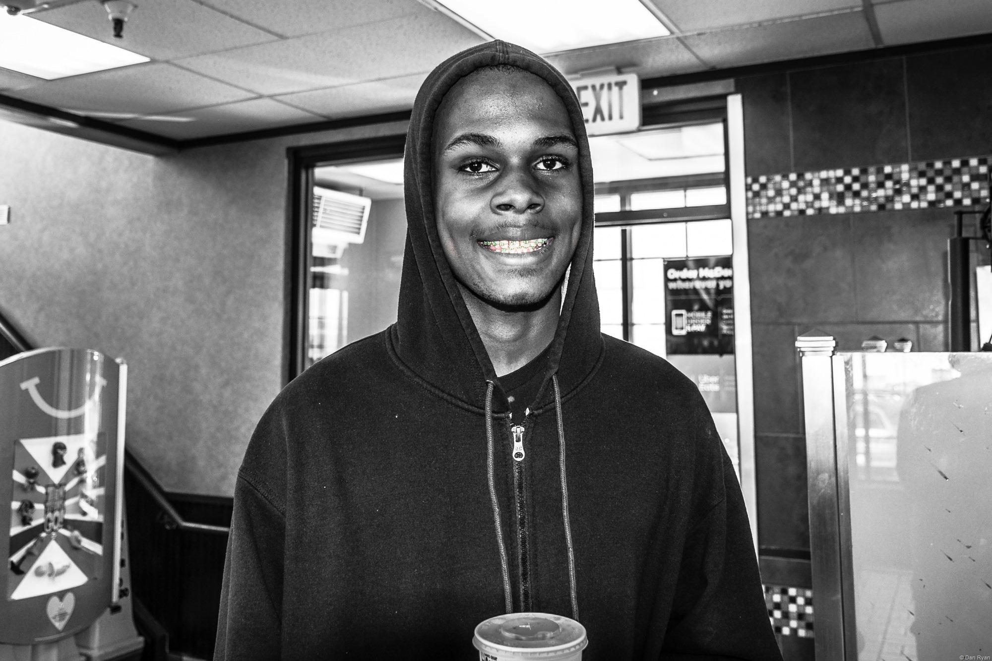 African American Teen McDonald's