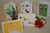 Homemade Christmas Card Ideas to do with Kids | Brisbane Kids
