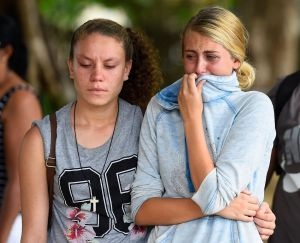 A community in pain after eight children were killed in a Cairns home.
