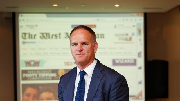 SYDNEY, AUSTRALIA - APRIL APN chief executive Michael Miller ... 'I would anticipate that we are going to see very different newspapers, very different websites.'