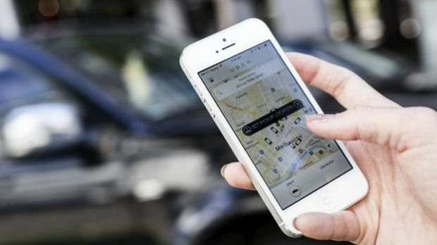 A Brisbane Uber driver was attacked early Thursday.