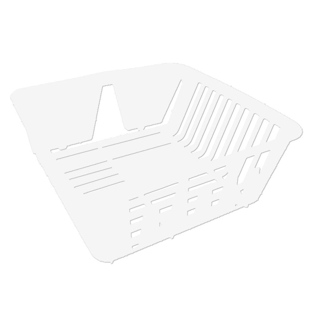 dish drainer plastic white