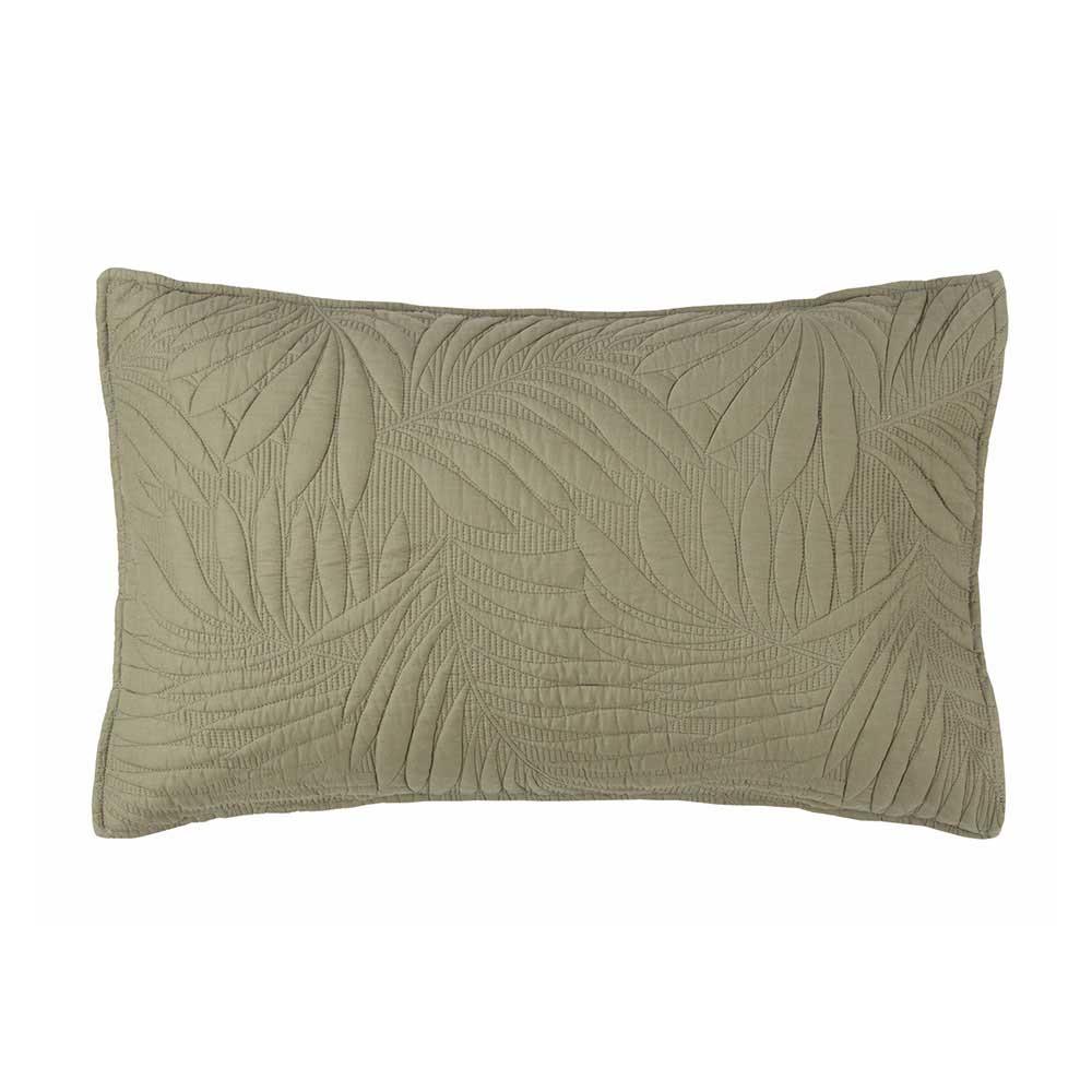 fieldcrest ciara quilted standard pillowcase