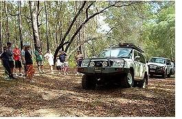 Recreational 4wd Training , Brisbane Hinterland 4wd