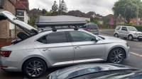 Skoda Superb Hatchback Roof Bars - 12.300 About Roof