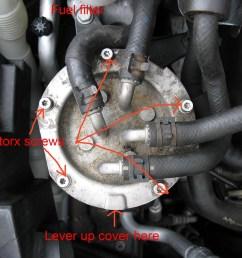 oil u0026 fuel filter change 2012 2l tdi cr e189 skoda yeti guidespost 131148 0 [ 1200 x 900 Pixel ]