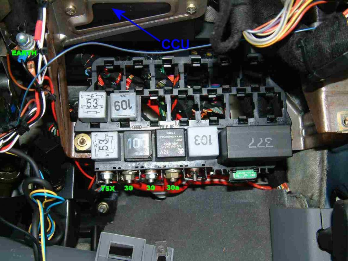 4 Way Wiring Bracket Installing Remote Central Locking Help Skoda Octavia Mk
