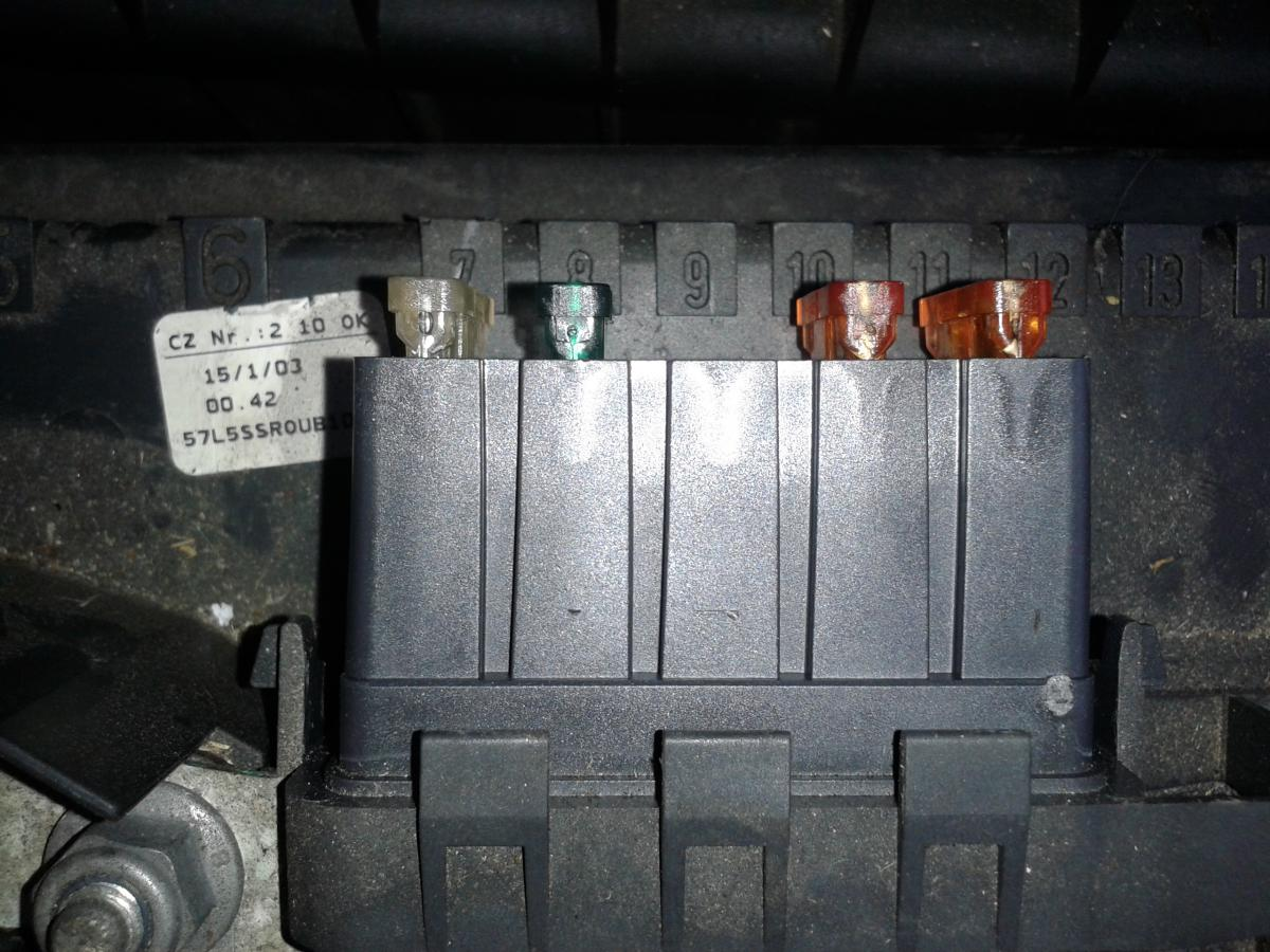 Skoda Fabia Vrs Fuse Box Diagram