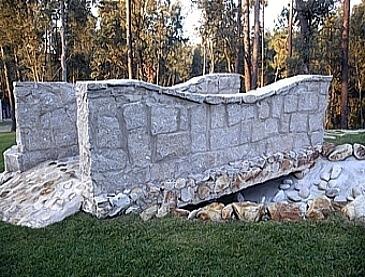 brispedra exemplos decorativos para jardim ponte pedra