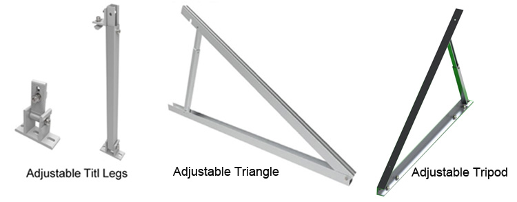 China Solar Panel Adjustable Mounting Brackets Suppliers