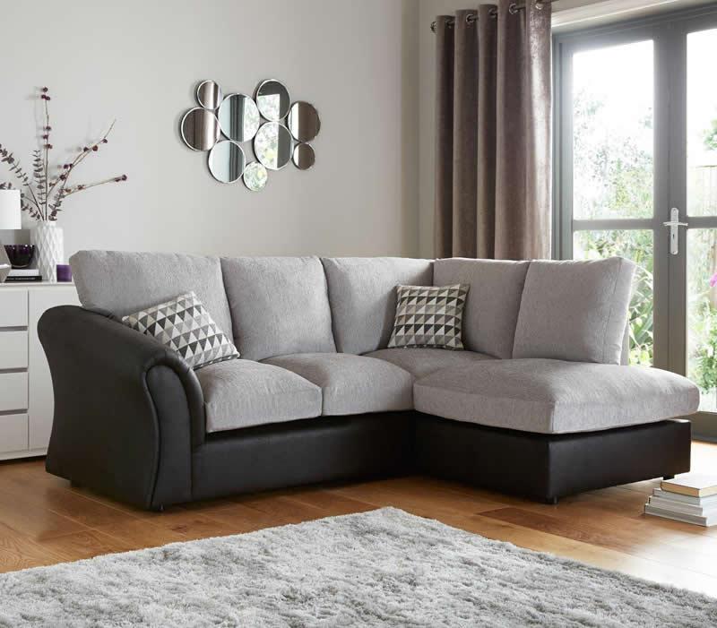 bristol sofa beds velvet l shaped standard back compact corner chaise - ...