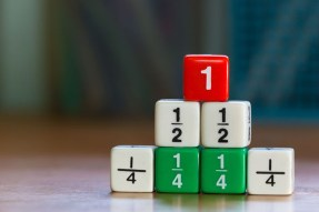 maths fraction dice 2