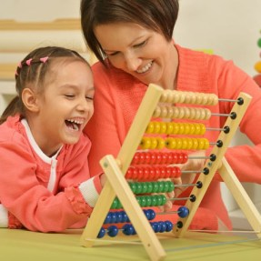 maths parent child abacus