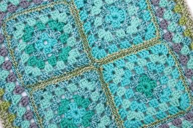 blue textile 1