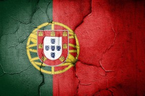 portuguese flag cracked