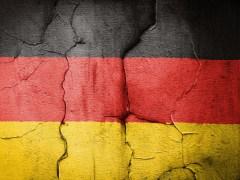 german flag cracked