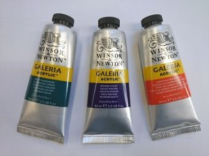 Windsor and Newton Galeria Acrylics - 60ml Tubes