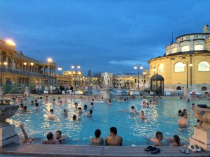 A top highlight of Budapest: Thermal Baths