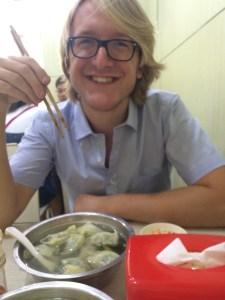 First dumplings experience