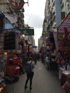 The market is fairly quiet in the morning but good for a stroll.