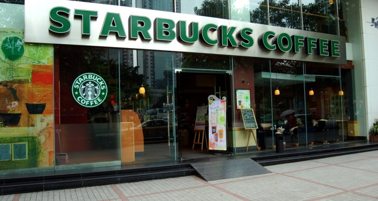 A Starbucks in Guangzhou, China
