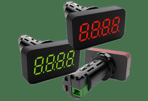 Bristol Instruments panel meters pressure transducers