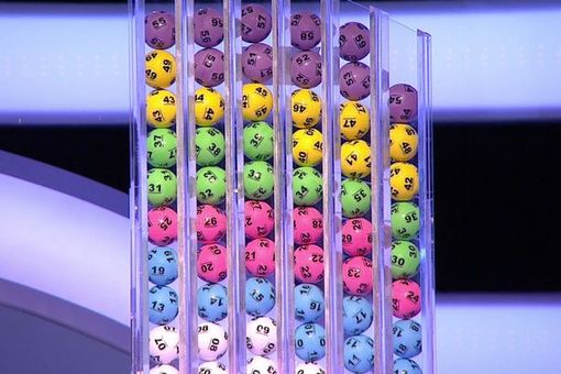 The national lottery balls
