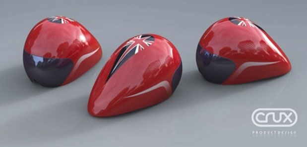 Crux helmets for Team GB cycling team