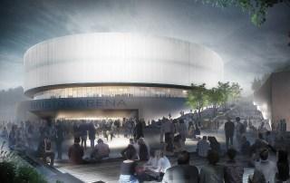 Bristol Arena Populous Arena Team CGI
