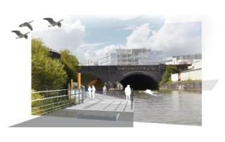 Temple Greenways CGI montage